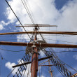 Old sailing ship - Stock Photo
