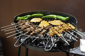 Mixed Barbecue — Stock Photo