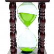 Stock Photo: Retro hourglass isolated