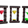 Stock Photo: Colored hourglass
