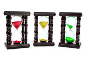 Colored hourglass — Stock Photo