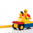 Colorful plastic constructor — Stock Photo