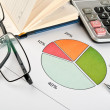 Financial charts and graphs — Stock Photo #5678872