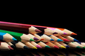 Many colors pencils — Stock Photo