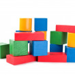 Stock Photo: color building blocks