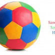 Royalty-Free Stock Photo: Color soccer ball