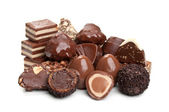 Sweet chocolate candy — Stock Photo