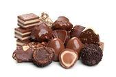 Sweet chocolate candy — Stock Photo
