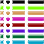 Web button set collection — Stock Vector #5488339