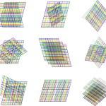 Abstract element background vector art design — Stock Vector
