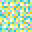 Abstract colored mosaic for background - Vettoriali Stock