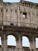 Building of the Colosseum — Stock Photo