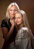 Two beautiful women — Stock Photo