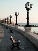 Embankment in italië — Stockfoto
