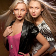 Two beautiful women - Foto Stock