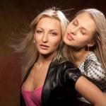 Two beautiful women — Stock Photo #6145421