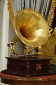 Antique phonograph — Stock Photo
