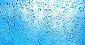 Gotas de agua — Stock Photo