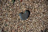 Heart of stone — Stock Photo
