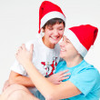 Enamoured gnomes — Stock Photo