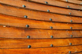 Boards with rivets — Foto Stock