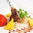 Foto Stock: Mutton leg