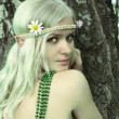 Elf-girl fairytale heroine — Stock Photo