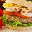 Big Burger — Stock Photo