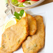 Breaded meat - Foto de Stock  