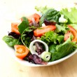 Green salad — Stock Photo #5590789