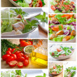 Collage salad — Stock Photo #5686725