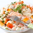 Surimi salad — Stock Photo
