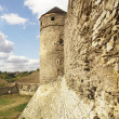 Wall and tower of fortress Kamyanets-Podolsky — Stock Photo