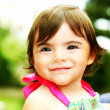 Little girl closeup portrait — Stock Photo #5387209