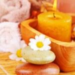 Spa organic soap — Stock Photo