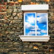 sky window — Stock Photo