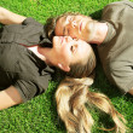Happy couple outdoor — Stock Photo #5520969