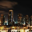 Stock Photo: City at night