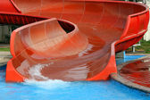 AQUAPARK SLIDE — Stockfoto