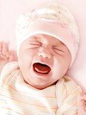 милый маленький ребенок плачет — Стоковое фото
