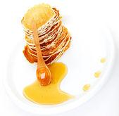 Deliciosos panqueques — Foto de Stock