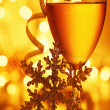 Romantic holiday celebration — Stock Photo #5627717