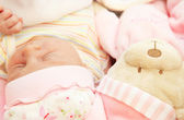 Cute little baby sleeping — Stock Photo