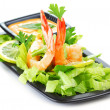 Royalty-Free Stock Photo: Shrimp salad