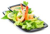 Salade de crevettes — Photo