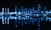 City at night — Foto Stock