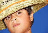 Podobizna chlapce — Stock fotografie