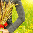 Wheat bouquet - Stock Photo
