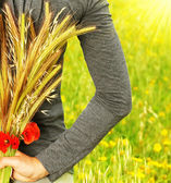 Wheat bouquet — Stockfoto