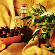 Olives still life - Stock Photo